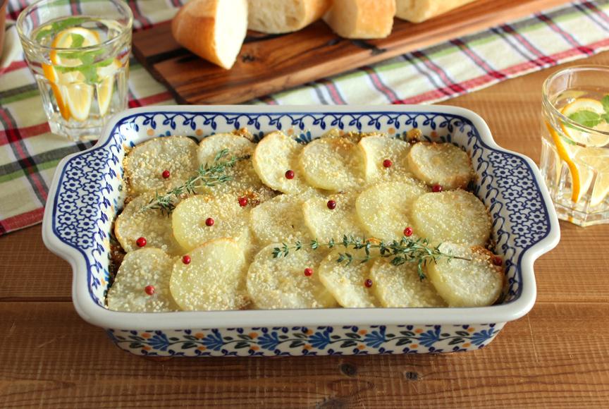 ジャガイモのミルフィーユ焼き