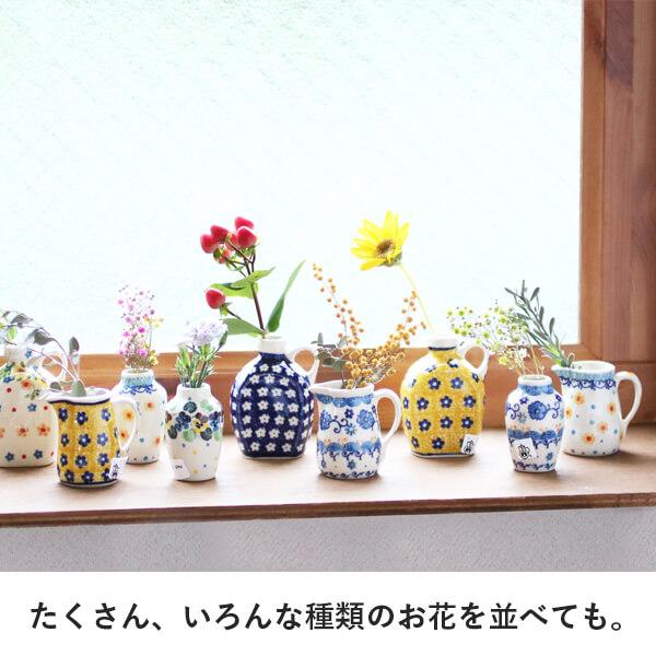 たくさん、いろんな種類のお花を並べても。