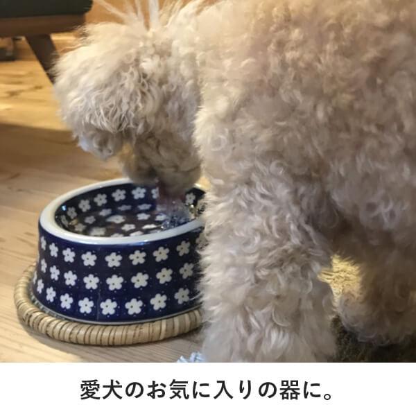 愛犬のお気に入りの器に。