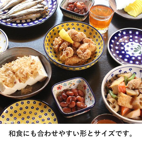 和食にも合わせやすい形とサイズです。