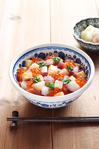 海鮮丼/ポーリッシュポタリー
