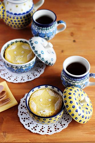 ホットケーキミックス簡単ふんわりケーキ/おやつの時間