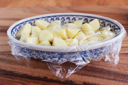 ポテトのチーズ焼きの作り方/ポーリッシュポタリー
