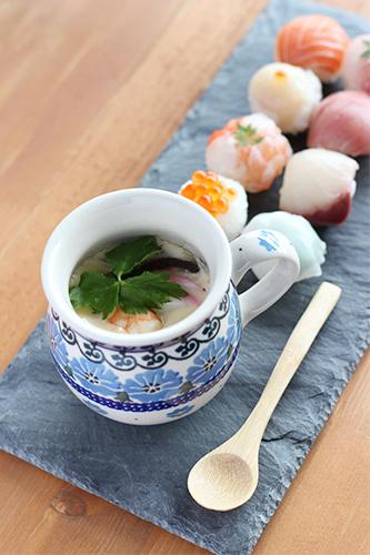 マグカップ0.25Lできれいに見える茶椀蒸し/ポーリッシュポタリー