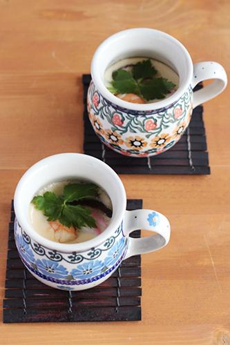マグカップ0.25Lできれいに見える茶椀蒸し