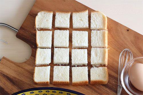 フレンチトーストはちみつ入りの作り方/ポーリッシュポタリー/ポーリッシュポタリー