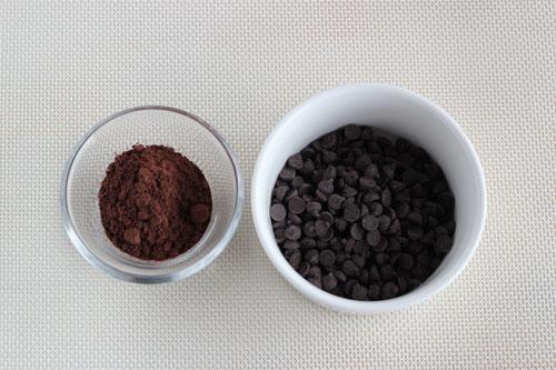 ココアチョコチップパンの材料/ポーリッシュポタリー