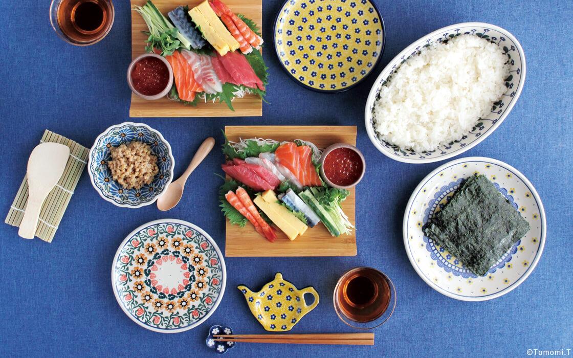 ちょっと大人な手巻き寿司パーティー